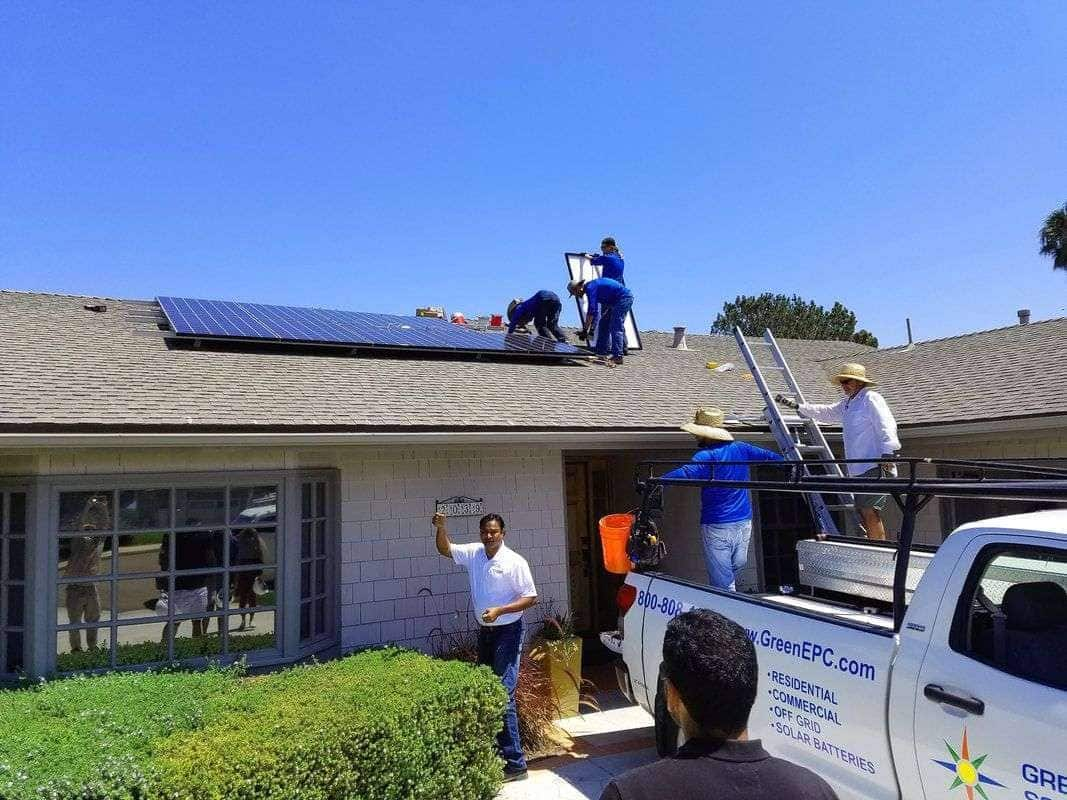 With LED lighting, Carole and Bob reduced their solar PV system by 3 modules, saving over $4,000 towards their Green Energy EPC 3.66kW DC solar PV system installed cost!