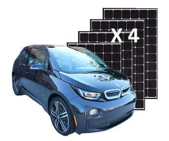 Intermediate Energy Upgrade: Mid-size solar panel system, complete and installed, and/or 1 Compact or Mid-Size, Economy or Midrange plug-in vehicle (EVs: BMW i3, VW e-Golf, Chevy Bolt, PHEVs: Chevy Volt, Ford Fusion Energi, Honda Clarity, or PHEVs: BMW i3RE, 330e, Honda Clarity, Hyundai Sonata, Kia Optima, Mini Countryman S-E, Toyota Prius Prime), or similar.