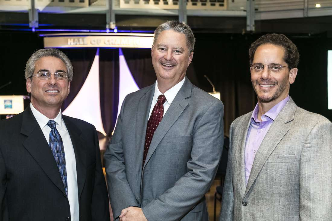 Dan Gibbs (Business Advisor at  Makello), Nels Jensen (San Diego Business Journal), and Charlie Johnson (Makello)