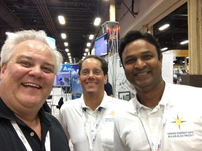 Charlie and Sam bring good will to Solar Power International 2017 in Las Vegas.