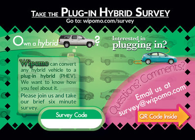 Plug-in Hybrid Surveys. Take the short surveys for more info