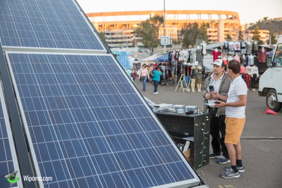 Mobile Energy Ecosystem provides power to food vendors