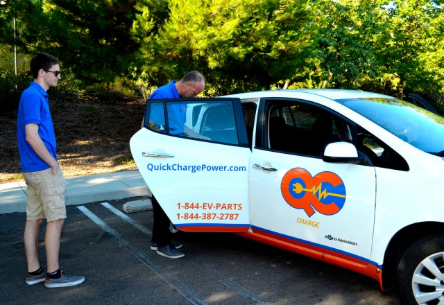 Quick Charge Power brings their Bolt on display