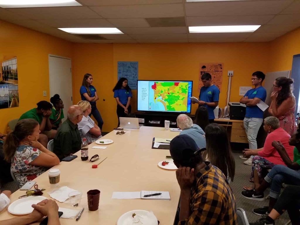 Groundwork San Diego EarthLab presentation UCSD internship