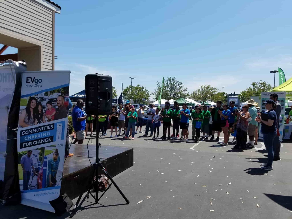 Northgate Market Public EV Charging Stations grand opening