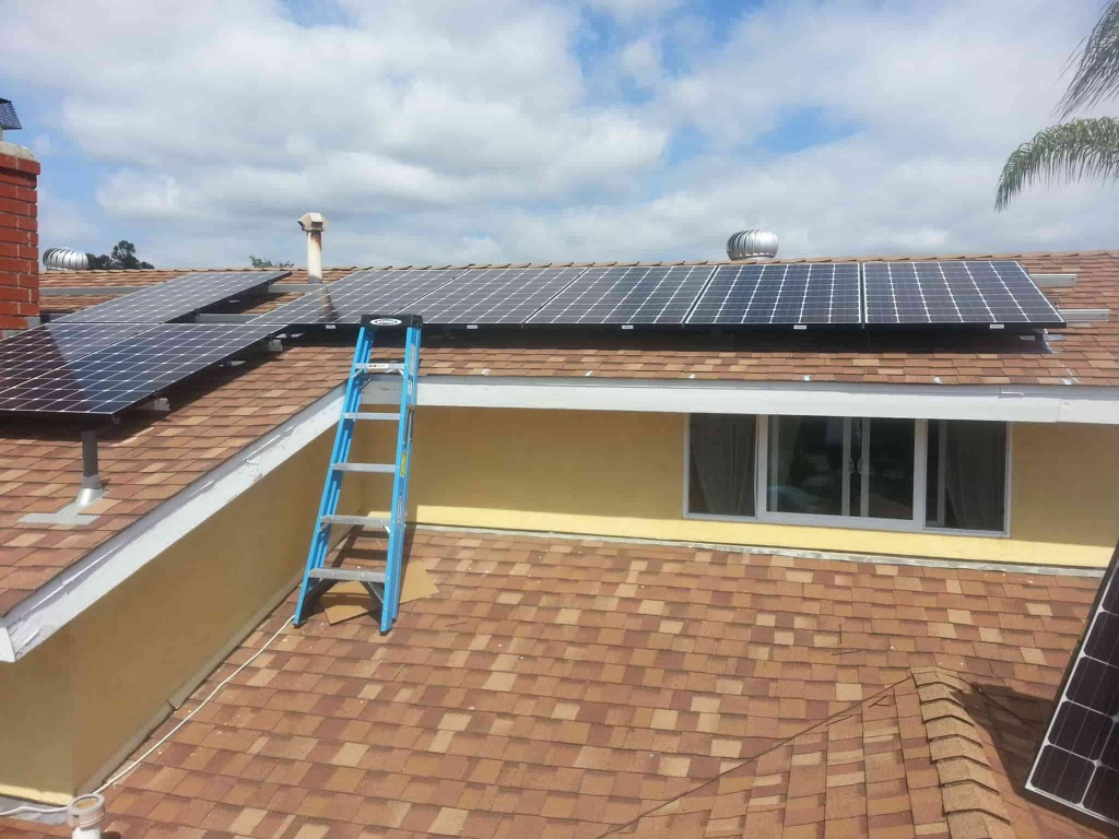 Shade under solar arrays can reduce home AC and fan loads.
