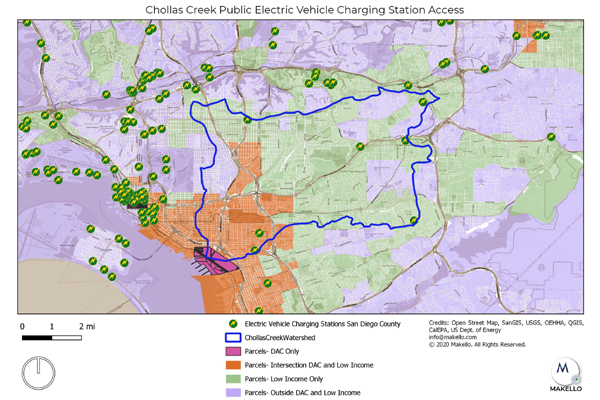 Public Electric Vehicle Charging Station Access Inequity