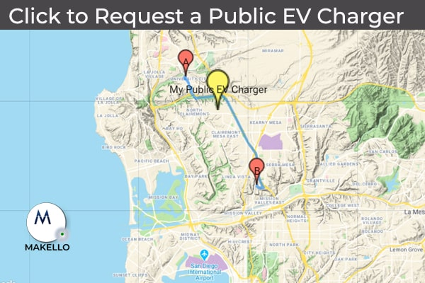 electric vehicle charging station san diego