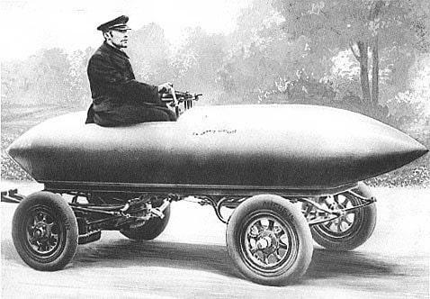 first electric vehicle jamais contente