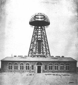 Wardenclyffe Tower Nikola Tesla New York wireless power