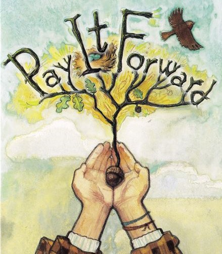 pay it forward, solve inequity, share solutions