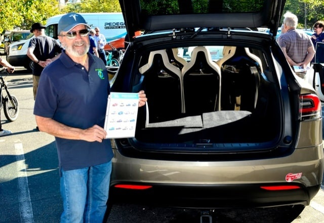 Tesla Model X trunk