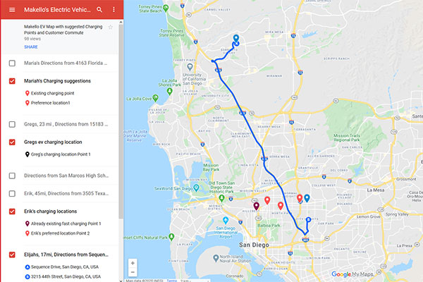 Request A Public EV Charger for your commute