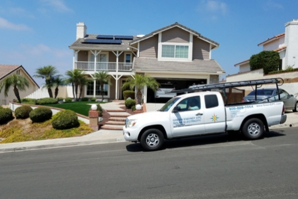 Makello and Green Energy EPC residential solar installation