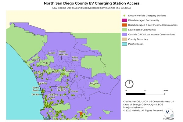 EV Charging Stations in North County San Diego