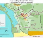 Traffic Density In South County San Diego