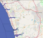 The Projection Of A New Coastline With A 7M Sea Level Rise Will Greatly Affect North County San Diego, Especially Along Estuaries And Inlets, According To Flood.firetree.net.