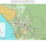 Traffic Density In North County San Diego