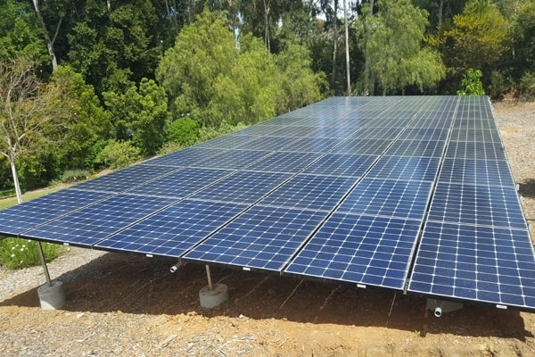 Makello and Green Energy EPC ground mount solar installation
